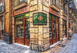 Stop by Fargas and try some of the best chocolate in all of Barcelona.