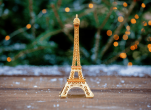 Don't forget to add some sort of Eiffel Tower replica to your list of things to buy in Paris.