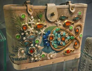 One of the amazing bags that you'll see at Amsterdam's Museum of Bags and Purses.