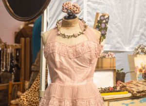 Some of the chic, vintage finds that you'll discover at The Vintage Market in Shoreditch.