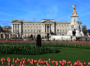Embrace the luxe life with a trip to Buckingham Palace, the official royal residence in London.
