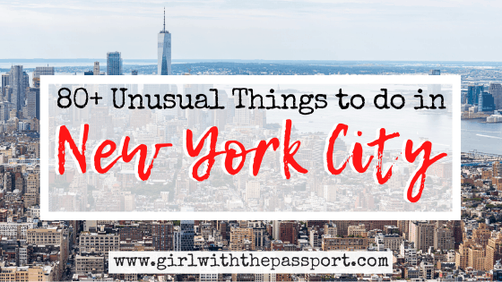 80+ Unusual Things to do in NYC (with SECRET tips from a local)