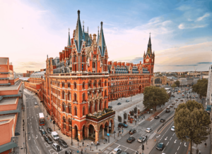 The St. Pancras Renaissance Hotel is one of the most beautiful buildings in the city and a total, London landmark.