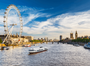 The scenic, Thames River is probably one of the most famous London landmarks of them all.