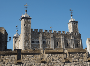 The Tower of London, one of the famous London landmarks that you'll see during your time in this amazing city.