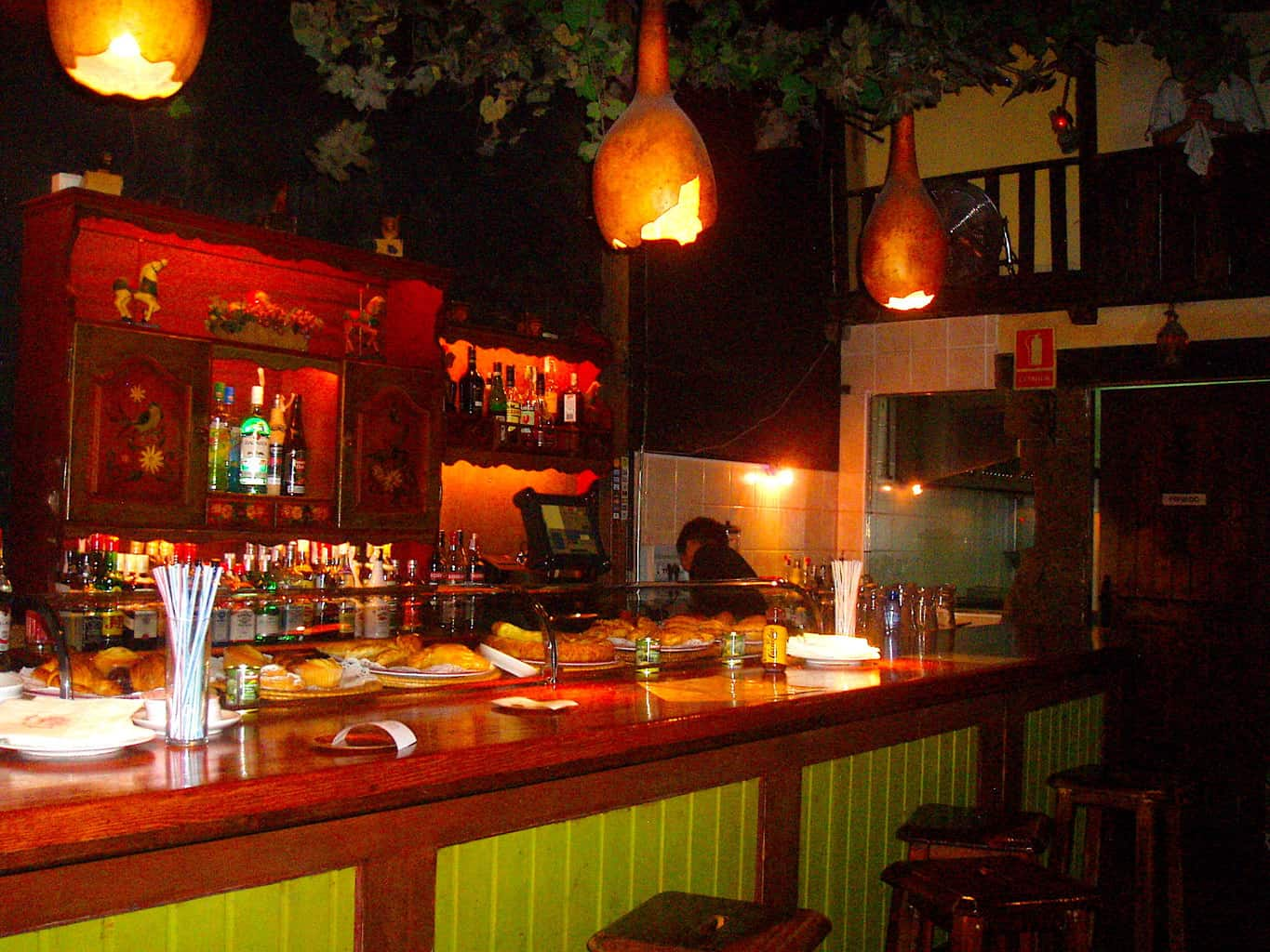 The forest-like interior of Bosc de Las Fades, or the fairy bar in Barcelona.
