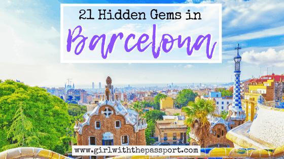 21 Stunning Hidden Gems in Barcelona!