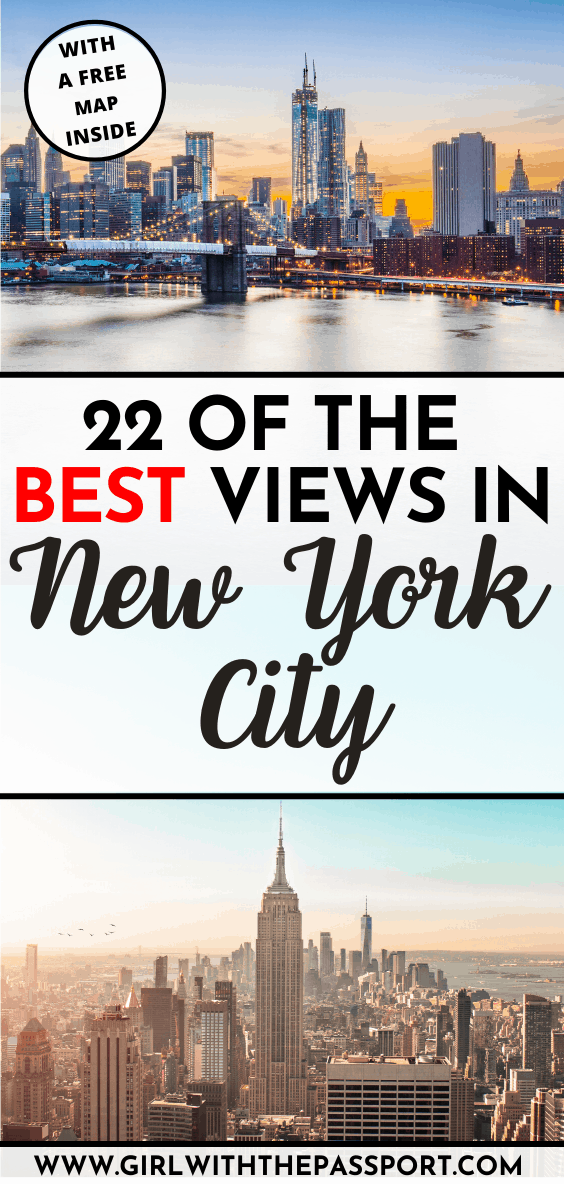 Looking for the best views of NYC? Then check out this local's guide to NYC! It's filled with expert NYC travel tips and secret places you can go to do some beyond epic NYC photography! . New York Travel | New York City Travel | New York City Travel Tips | NYC Itinerary | NYC Travel Tips #NYCGuide #TravelNYC #VisitNYC #NYCTips