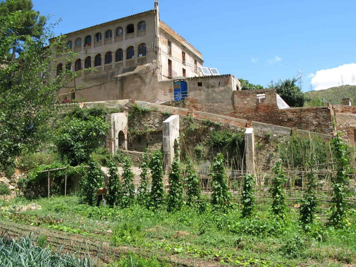 This former hospital is now the Can Masdeu ecological community along the outskirts of Barcelona.