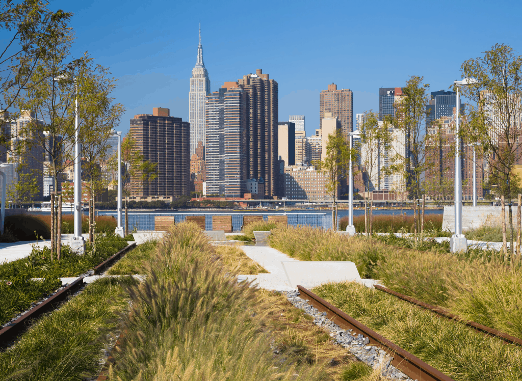 Head to Gantry State Park in Long Island City for some of the best views in NYC.