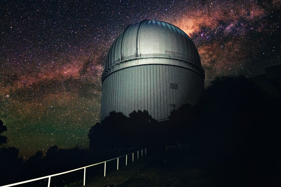 Marvel at faraway galaxies from Siding Springs Observatory in New South Wales.