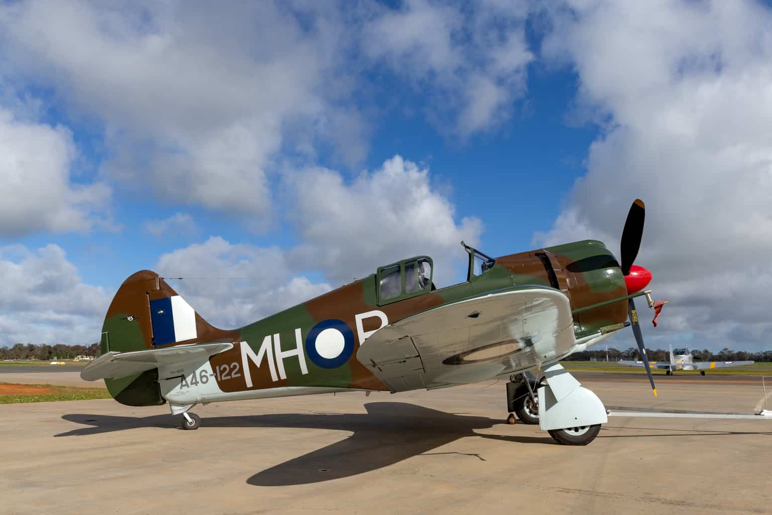 If you're travelling around Australia then these are some of the historic, CA-13 Boomerang fighter planes you'll see at the Temora Aviation Museum.