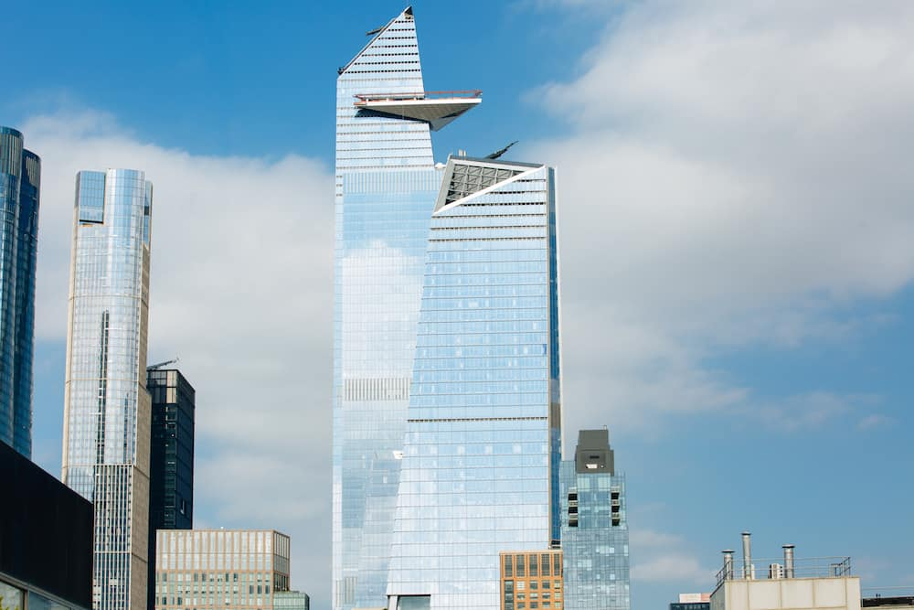 The Edge NYC at Hudson Yards. has one of the best views in NYC.