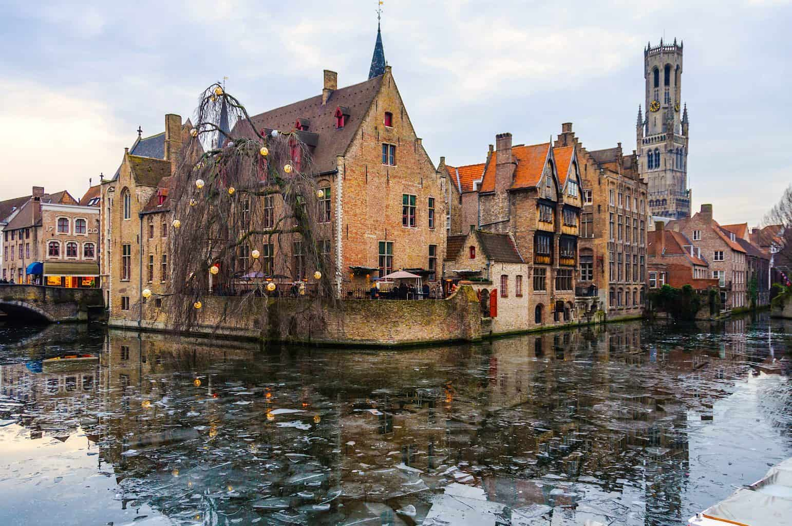 The ethereal, picture-perfect, Christmas charm you'll find in Bruges, Belgium this holiday season.