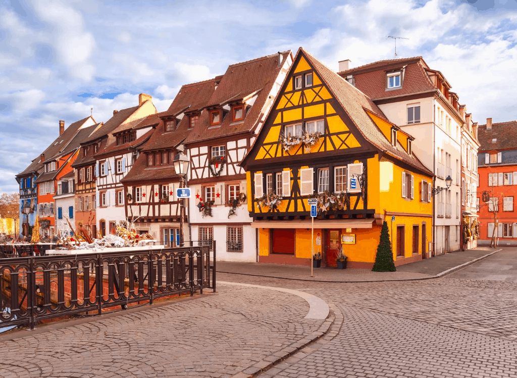 The fairytale charm of Christmas in Colmar, France.