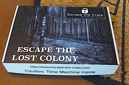 This Escape the Crate, escape room type box sounds super fun and I cannot wait to give one of the best travel subscription boxes out there a try!