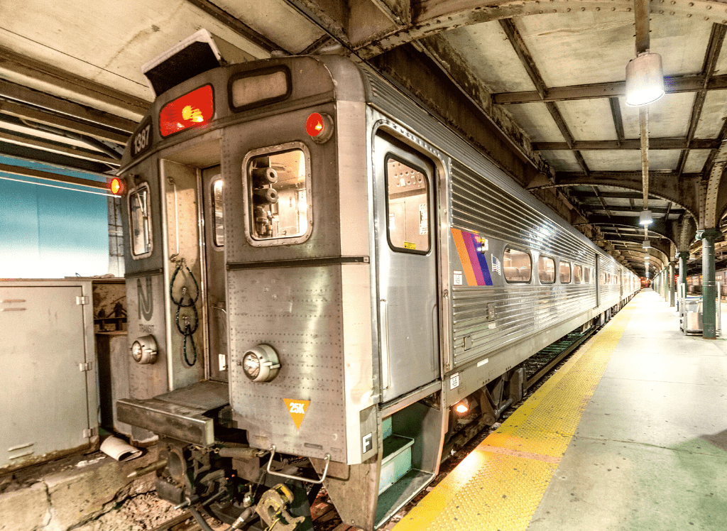 Taking the Newark AirTrain and then the NJ Transit Train is one of the cheapest ways to get from Newark Airport to Manhattan.
