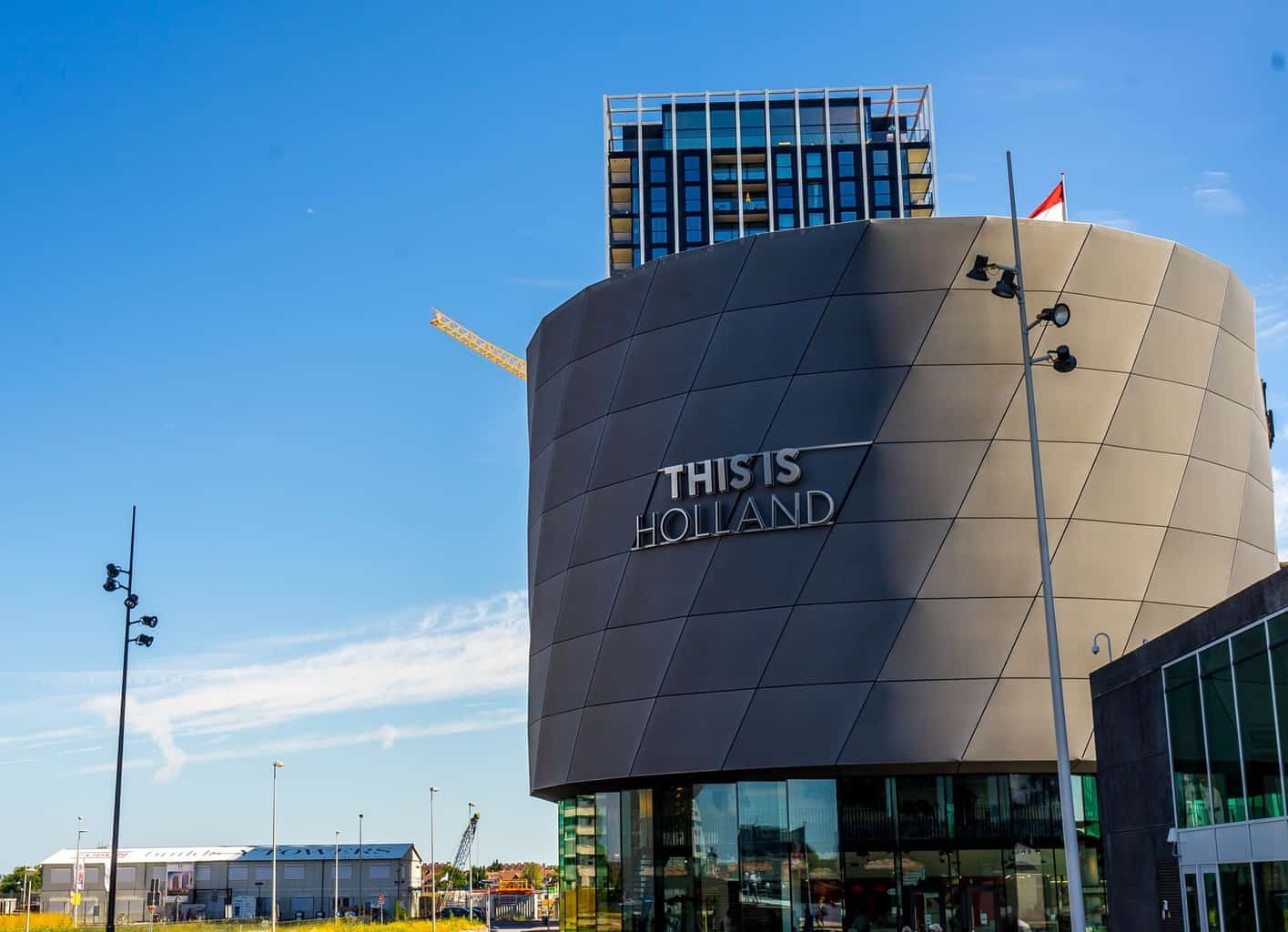 """An exterior view of the """"This is Holland"""" Experience. One of many Amsterdam hidden gems you'll love."""