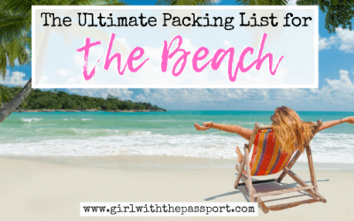 20 Fantastic Items for Your Beach Vacation Packing List!