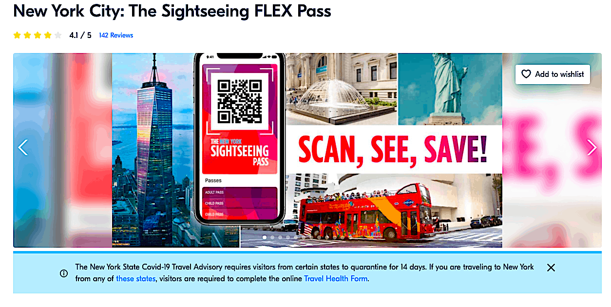 The Sightseeing Flex Pass is another great alternative to the New York Pass.