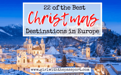 22 of the Best European Christmas Destinations!