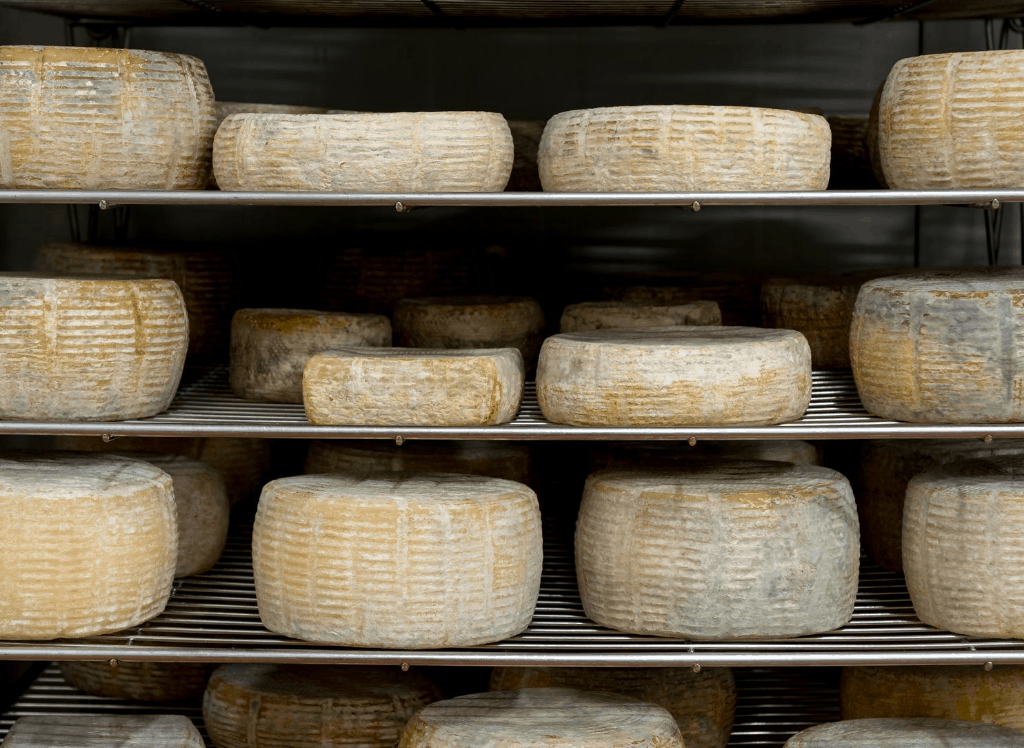 Enjoy some delicious, aged cheese at the Crown Finish Caves in Brooklyn.