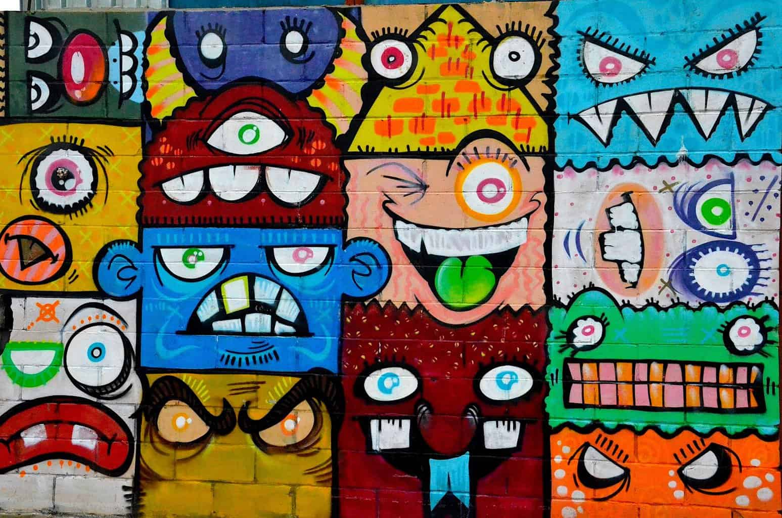 Stop by Williamsburg and see some of the collest street art in NYC.
