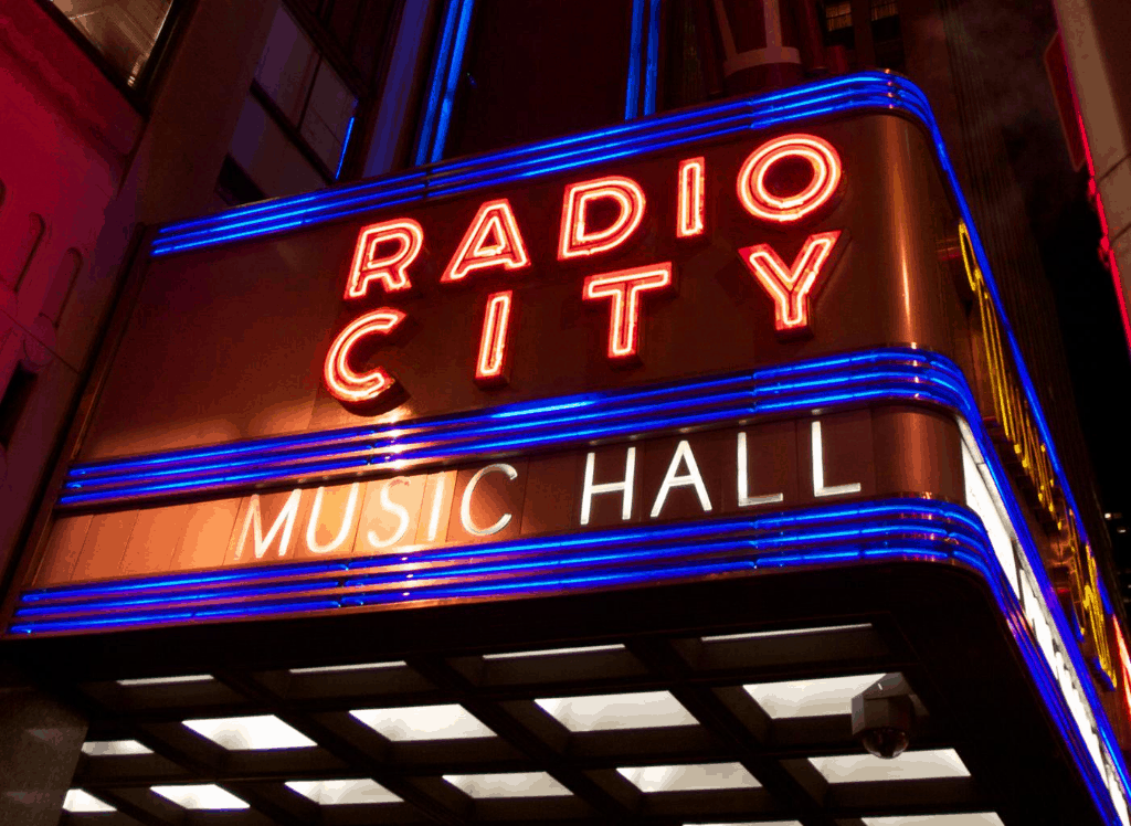 Take a tour of New York City's famous, Radio City Music Hall.