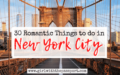 30 Amazing and Romantic Things to do in NYC
