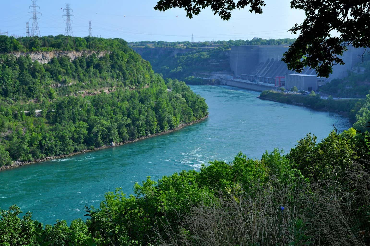 A panoramic view of Devil's Hole National Park near Niagara Falls in NY. Image sourced from Curtis Anderson on Flickr.