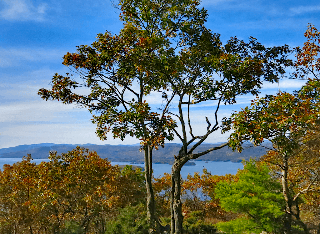 Some of the amazing views from the mountains around Lake George, NY.