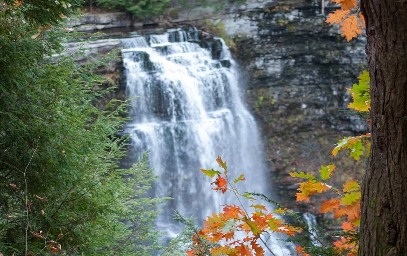 Salmon River Falls. Another one of the best waterfalls in New York.