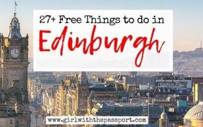 27+ Best Free Things to do in Edinburgh!