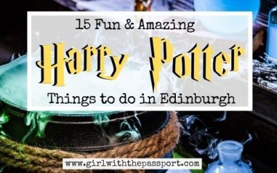 15+ Amazing Edinburgh Harry Potter Sites You MUST See!