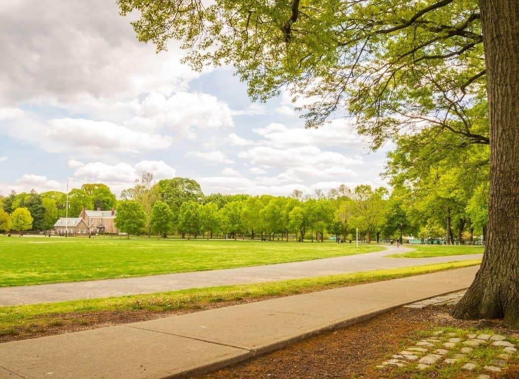 Van Cortlandt Park in the Bronx, NY.