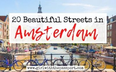 20 of the Most Beautiful Amsterdam Streets!