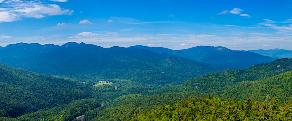 View at Allen Mountain from Giant Mountain.