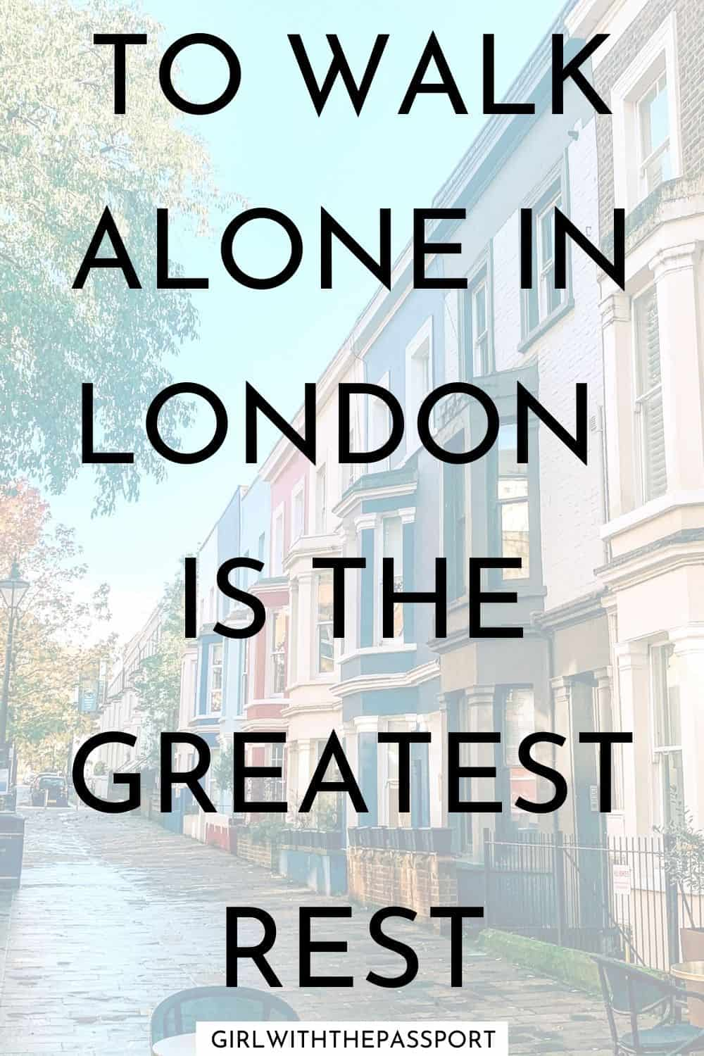 famous quotes about London