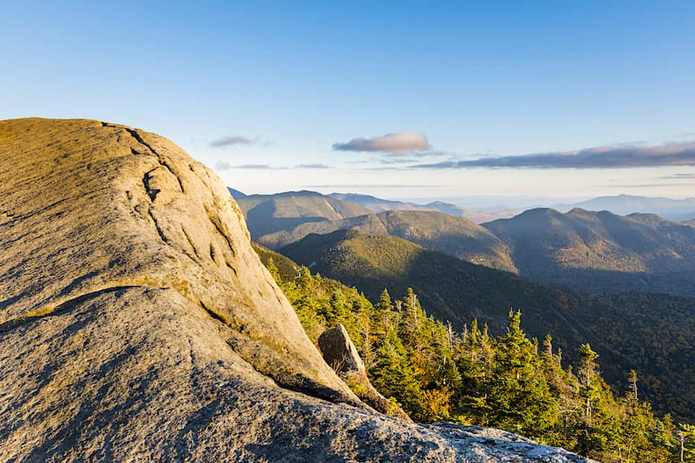 Gothics Mountain Cliff in the Adirondacks