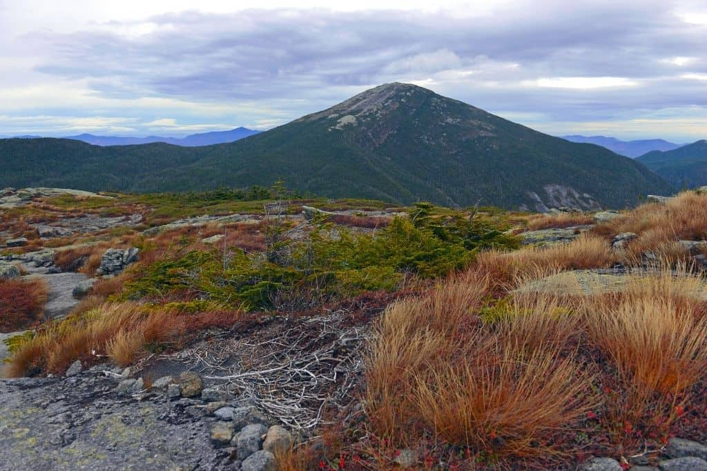 A view of Mount Marcy, the highest peak in the Adirondacks region of New York.