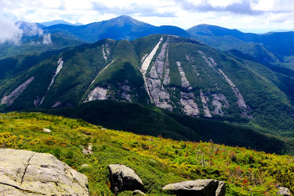 A view of Mt Colden from Algonquin High Peak. One of the best hikes in the Adirondacks.