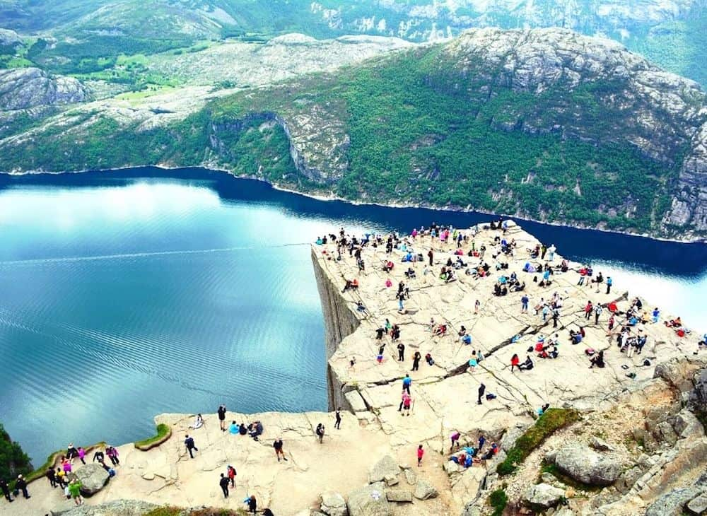 Pulpit Rock, one of the most beautiful places in Norway,