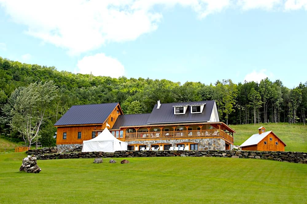 Beautiful Amee Farm in Pittsfield, Vermont.