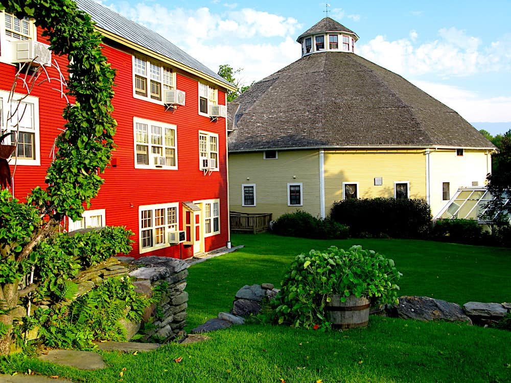 The country charm of the Inn at the Round Barn Farm.