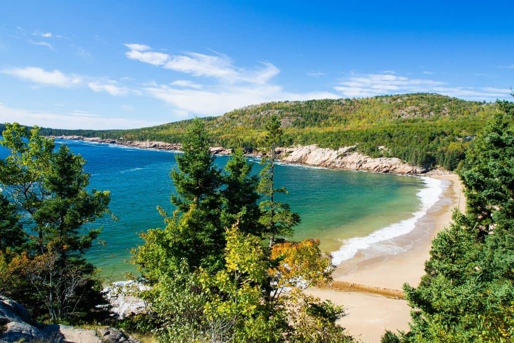 A beautiful beach in Acadia National Park. The end of one of the best scenic drives in Maine.