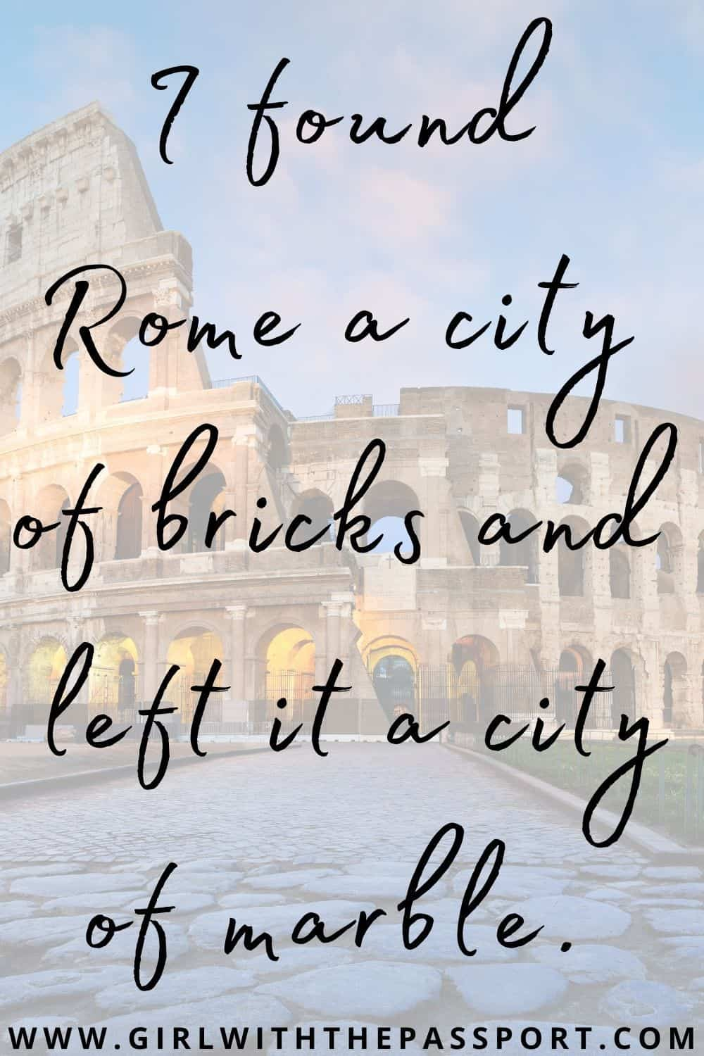 Ancient Rome Quotes
