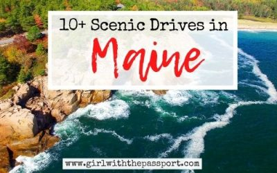 10 of the Most Awe-Inspiring Scenic Drives in Maine!