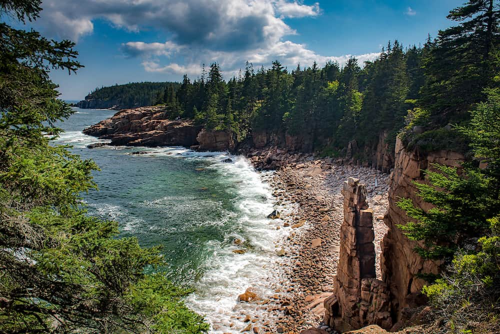 Find out the best time to visit Maine and Monument Cove in Acadia