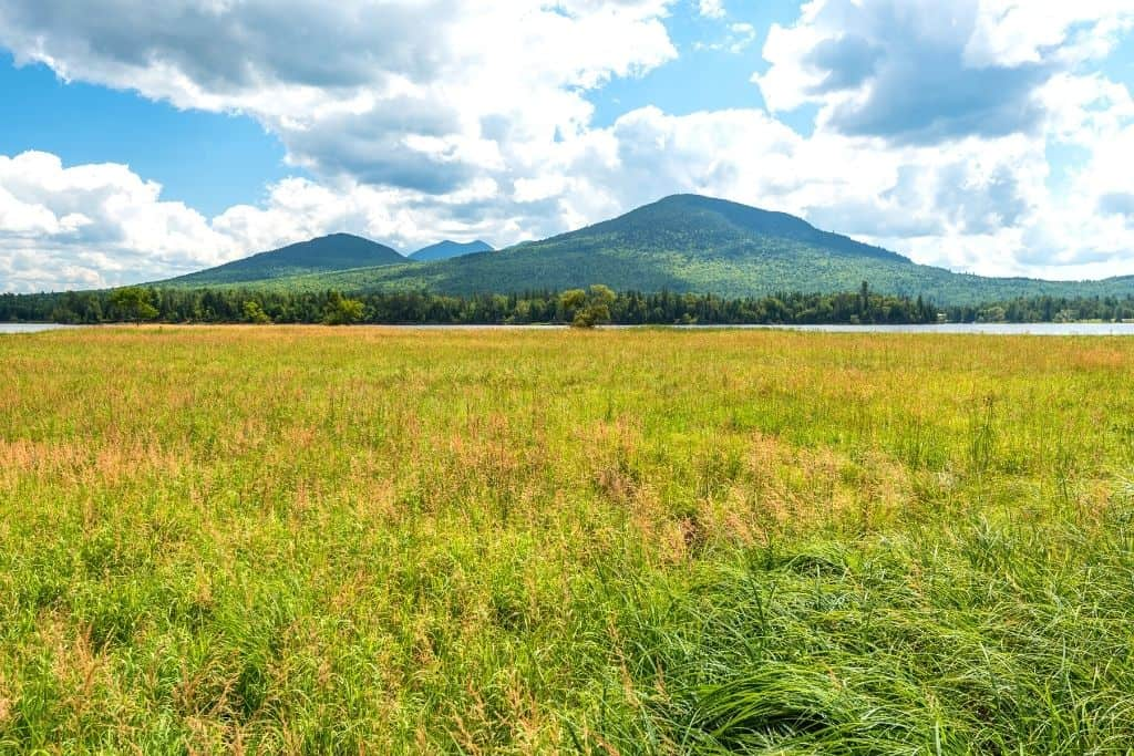 A view of Mount Bigelow in Maine.