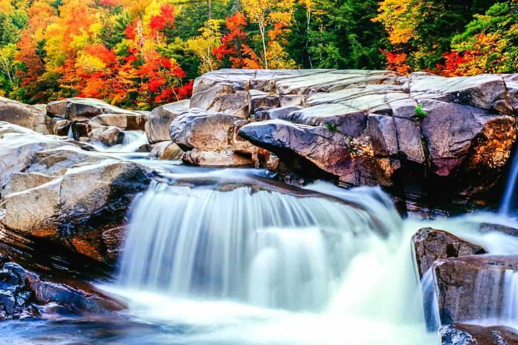The White Mountains of New Hampshire are a must see on one of the best scenic drives in Maine.